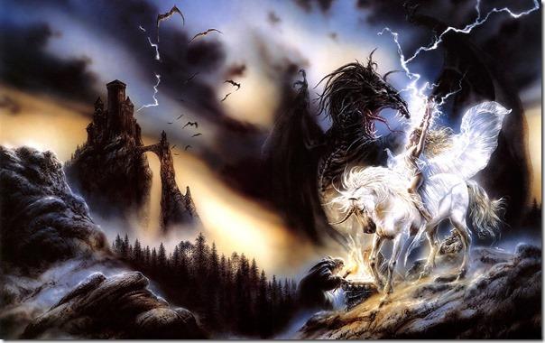 Уникорн срещу Черен Дракон